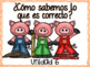 Benchmark Advance and Adelante Essential Question Posters KINDERGARTEN