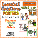 Benchmark Advance and Adelante Essential Question Posters SECOND GRADE