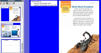 Benchmark Advance flipchart 2nd Grade U3