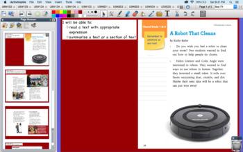 Benchmark Advance flipchart 2nd Grade U5