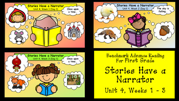 Benchmark Advance for First Grade Unit 4