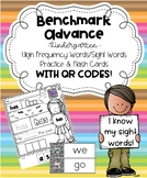 Benchmark Advance for Kindergarten High Frequency Sight Wo