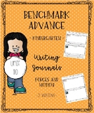 Benchmark Advance for Kindergarten Unit 10 Writing Journals