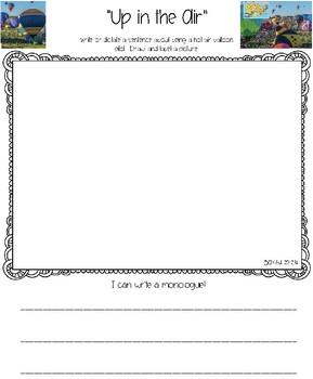 Benchmark Advance for Kindergarten Unit 10 Writing Journals
