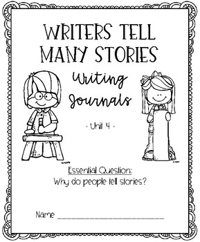 Benchmark Advance for Kindergarten Unit 4 Writing Journals