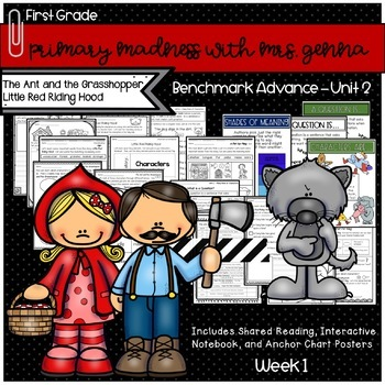 Benchmark Advance First Grade Unit 2 Little Red Riding Hood Mini Unit