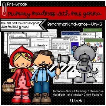 Benchmark Advance First Grade Unit 2 Week 1 Little Red Riding Hood Mini Unit