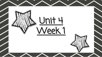 Benchmark Advanced Second Grade Focus Wall Unit 4 (all weeks)
