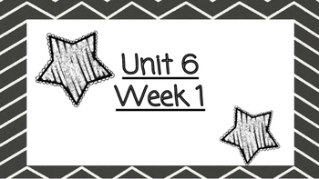Benchmark Advanced Second Grade Focus Wall Unit 6 (all weeks)