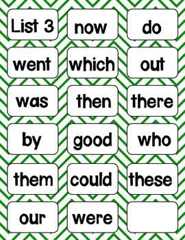 Benchmark Advanced Sight Word Card Set