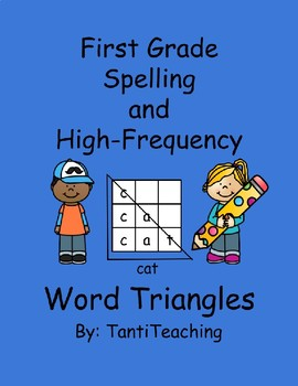 Benchmark Advanced Spelling Activities- Word Triangles