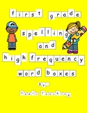 Benchmark Advanced Spelling Activity- Word Boxes