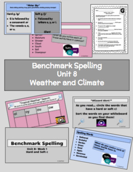 Benchmark Advanced Spelling, Grade 3 Unit 8 Supplemental Material
