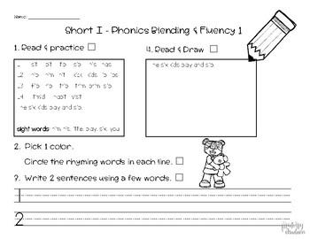 Benchmark Advanced First Grade Short i Unit 1 Week 2 #1