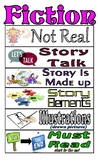 Benchmark Advanced Grade 1 Fiction and  Nonfiction posters