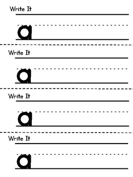 Benchmark Aligned Kindergarten Sight Word Mini-Booklet {Sight Word a}