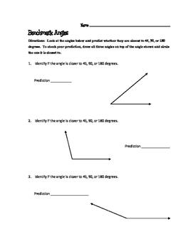 Benchmark Angles