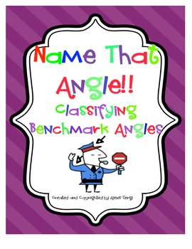 Benchmark Angles Cooperative Learning Cards
