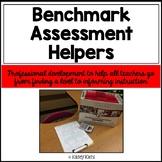 Benchmark Assessment Helpers: Professional Development for Teachers