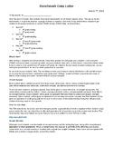 Benchmark Data Letter for Parents