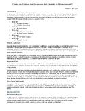 Benchmark Data Letter for Parents (Spanish)