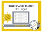 Benchmark Fraction Decimal Percent - Drill Pages