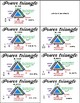 Benchmark Fraction Flashcards using the Power Triangle