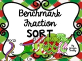 Benchmark Fraction Sort {Holiday Themed Freebie}