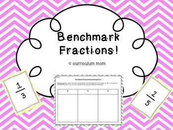 Comparing Fractions using Benchmarks!