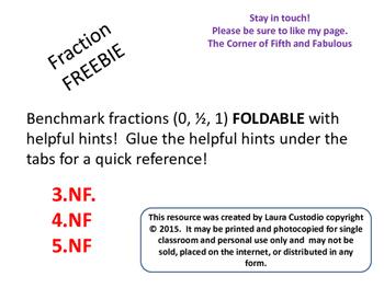 Benchmark Fractions