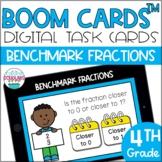 Benchmark Fractions BOOM CARDS™ Digital Task Cards