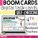Benchmark Fractions Boom Cards
