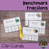 Benchmark Fractions Clip Cards