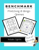 Benchmark Fractions - Matching and Bingo Games (Includes Eighths)