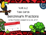 Benchmark Fractions {Math Task Cards}