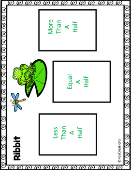 Benchmark Fractions ~ Sort, Compare and Order Math Stations and Worksheets
