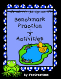 Benchmark Fractions ~ Sort, Compare and Order Math Station