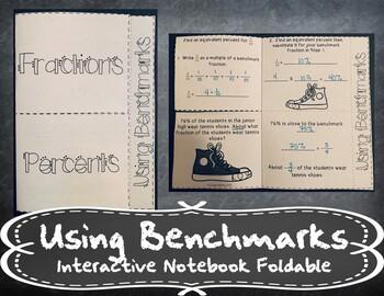 Benchmark Fractions and Percents INB TEKS 6.4F