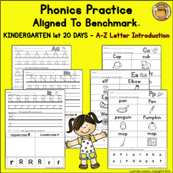 Benchmark Advance© Kindergarten - 1st 20 Days/Unit 1 Phonics Practice