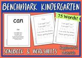 Benchmark Kindergarten - Songbook & Worksheets