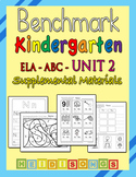 Benchmark Advance Kindergarten Unit 2 - Supplemental Materials