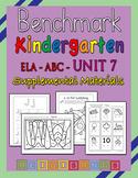 Benchmark Advance Kindergarten ABC Unit 7 - Heidi Songs Supplement Materials