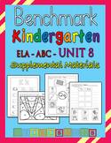 Benchmark Advance Kindergarten Unit 8 - Supplemental Materials