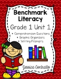 Benchmark Literacy First Grade Comprehension Worksheets Unit 1