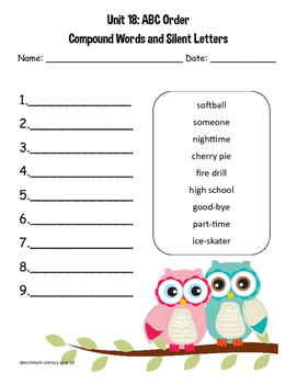 Benchmark Literacy 2nd Grade Unit 18 Resource Pack