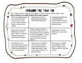 Benchmark Literacy 3rd Grade Spelling Unit 19 Tic Tac Toe