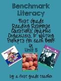 Benchmark Literacy Comprehension Worksheets for 1st Grade Unit 5