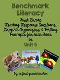 Benchmark Literacy Comprehension Worksheets for 1st Grade Unit 6