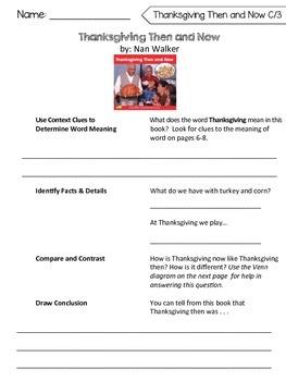 Benchmark Literacy Comprehension Worksheets for 1st Grade Unit 8