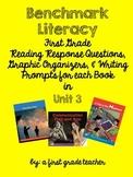 Benchmark Literacy Comprehension Worksheets for Unit 3